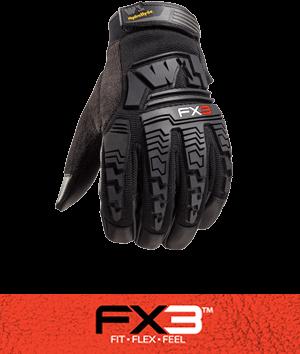 fx3 extreme glove technology button
