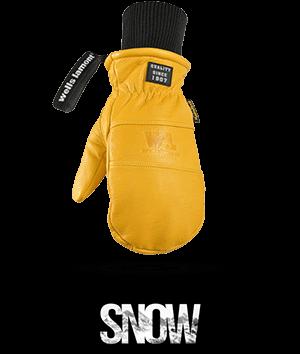 Wells Lamont SNOW ski snowboarding gloves button